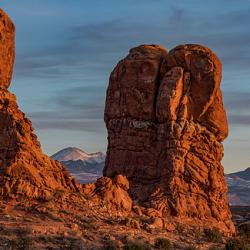 Balanced Rock Sunset - Fine Art